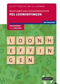 PDL Loonheffingen Opgavenboek 2021-2022