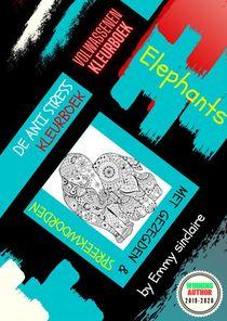 De Anti Stress Kleurboek : Elephant