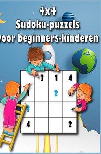 4x4 sudoku puzzels voor kinderen