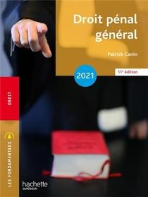 Droit Penal General (edition 2021)