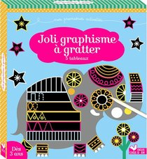 Joli Graphisme A Gratter : 5 Tableaux