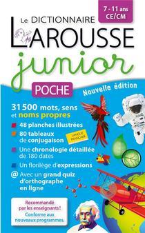 Le Dictionnaire Larousse Junior Poche