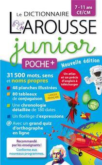 Le Dictionnaire Larousse Junior Poche Plus