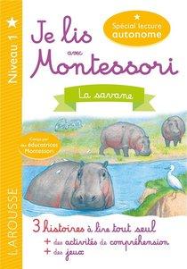 Je Lis Avec Montessori ; La Savane