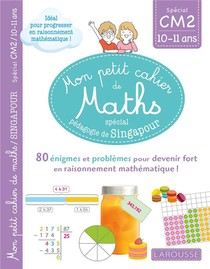 Mon Petit Cahier De Maths ; Cm2 ; Special Pedagogie De Singapour