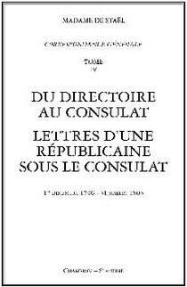 Correspondance Generale T.4 ; 1796-1803