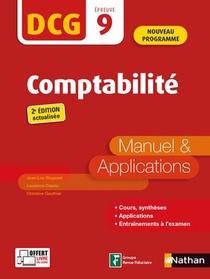 Dcg : Epreuve 9 : Comptabilite : Manuel Et Applications (edition 2021/2022)