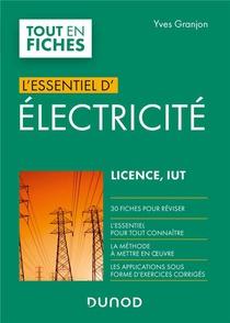 L'essentiel D'electricite ; Licence, Iut