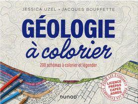 Geologie A Colorier : 200 Schemas A Colorier Et Legender