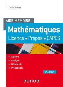Aide-memoire ; Mathematiques (3e Edition)