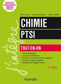 Chimie Ptsi : Tout-en-un (2e Edition)