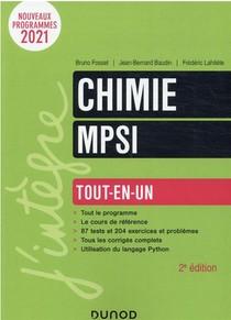 Chimie Mpsi : Tout-en-un (2e Edition)