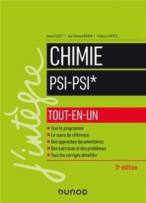 Chimie Psi-psi* ; Tout-en-un (3e Edition)