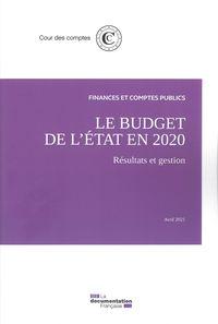Le Budget De L'etat : Resultats Et Gestion