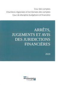 Arrets, Jugements Et Avis Des Juridictions Financieres 2020