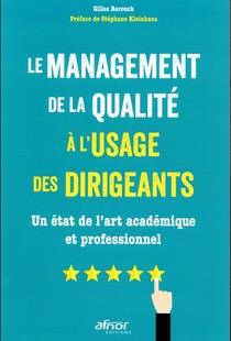 Le Management De La Qualite A L'usage Des Dirigeants