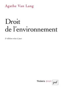 Droit De L'environnement (5e Edition)