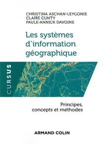 Les Systemes D'information Geographique ; Principes, Concepts Et Methodes