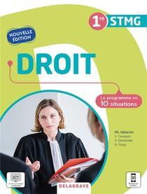 Droit : 1re Stmg ; Pochette Eleve (edition 2021)