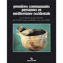 Premieres Communautes Paysannes En Mediterranee Occidentale