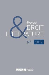 Revue Droit & Litterature N.1