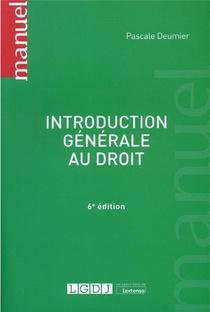 Introduction Generale Au Droit (6e Edition)