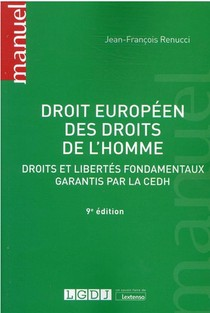 Droit Europeen Des Droits De L'homme (9e Edition)