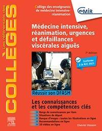 Medecine Intensive, Reanimation, Urgences Et Defaillances Viscerales Aigues ; Reussir Son Dfasm ; Connaissances Cles (7e Edition)