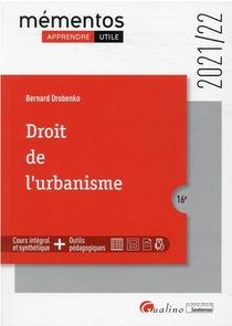 Droit De L'urbanisme (edition 2021/2022)