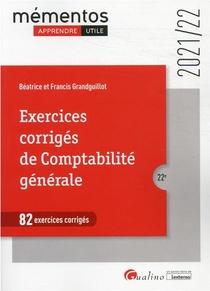 82 Exercices Corriges De Comptabilite Generale (edition 2021/2022)