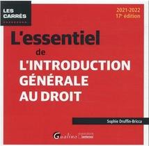 L'essentiel De L'introduction Generale Au Droit (17e Edition)