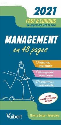 Fast & Curious ; Management ; Apprendre Vite Et Bien (edition 2021)