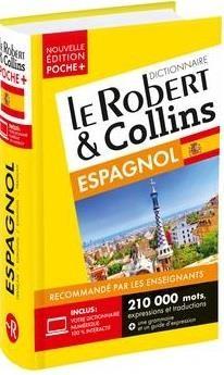 Dictionnaire Le Robert & Collins Poche + Espagnol