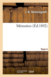Memoires. Tome 4