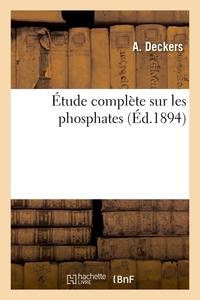 Etude Complete Sur Les Phosphates