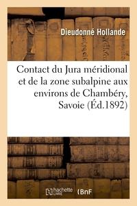Contact Du Jura Meridional Et De La Zone Subalpine Aux Environs De Chambery, Savoie