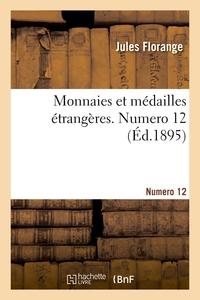 Monnaies Et Medailles Etrangeres. Numero 12