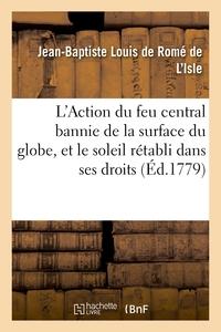 L'action Du Feu Central Bannie De La Surface Du Globe, Et Le Soleil Retabli Dans Ses Droits - Contre