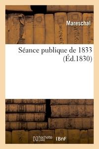 Seance Publique De 1833