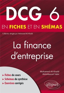 Dcg 6 : La Finance D'entreprise En Fiches Et En Schemas