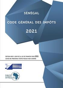 Senegal : Code General Des Impots 2021