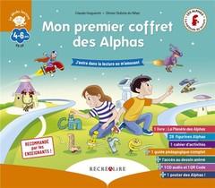 Apprendre A Lire Avec Les Alphas ; Mon Premier Coffret Des Alphas