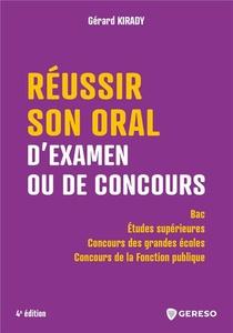 Reussir Son Oral D'examen Ou De Concours - Bac / Etudes Superieures / Concours Des Grandes Ecoles /