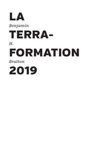 La Terraformation 2019