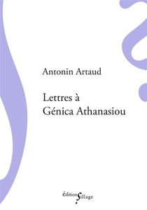 Lettres A Genica Athanasiou