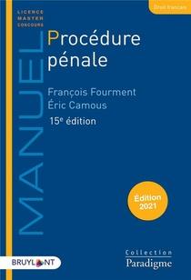 Procedure Penale (edition 2021)