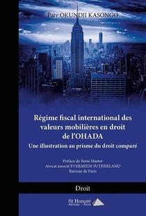 Regime Fiscal International Des Valeurs Mobilieres En Droit De L'ohada