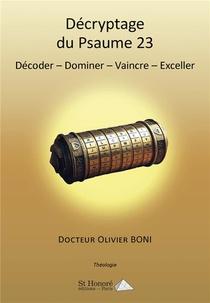 Decryptage Du Psaume 23
