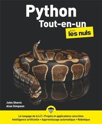 Python Tout En Un Pour Les Nuls