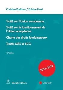Traite De L'union Europeenne (12e Edition)
